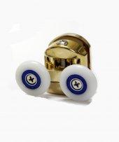 Anpa300 K1 Duşakabin Gold Altın Kaplama Üst Rulmanı Tekerlek Tekeri Makarası