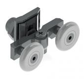 Anpa110 K Duşakabin Slot Ayarlı Rulmanı Tekerlek Tekeri Makarası