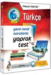 çanta Yayınları 6.sınıf Türkçe Yaprak Test