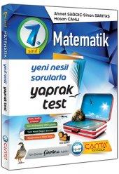 çanta Yayınları 7.sınıf Matematik Yaprak Test