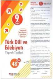Nitelik Yaprak Test 9.sınıf Türk Dili Ve Edebiyatı *yeni*