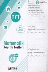 Nitelik Yaprak Test Yks Tyt Matematik *yeni*