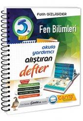 çanta Yayınları 5.sınıf Fen Bilimleri Alıştıran Defter