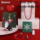 Baseus Yeni Araç Alanlara Hediye Set/New Year/Christmas Gift Set