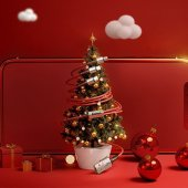 Baseus Yeni Araç Alanlara Hediye Set/New Year/Christmas Gift Set-4