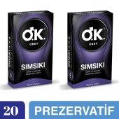 Okey Sımsıkı Prezervatif, 20li Ekonomik Avantaj Paket