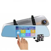 General Plus T500hd Dokunmatik Ips Ekran Dikiz Aynalı Araç Kamerası Geri Görüş Kamersı