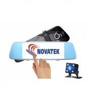 Novatek Nt710 Dokunmatik 7 İnç Ips Full Hd Dikiz Ayna Araç Kamera Geri Görüş Kamerası