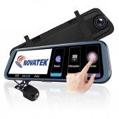Novatek Nt910 10 İnç Ips Stream Media Full Hd Dikiz Ayna Kamera Geri Görüş Kamerası