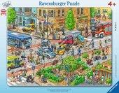 Ravensburger 35 Parça Çerçeveli Puzzle - Şehir