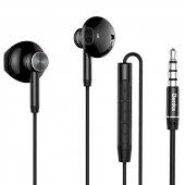 Oppo A5 2020 Benks Kulak İçi Kulaklık Süper Bass 3.5mm E01