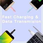 Oppo R17 Pro Type-C Usb Hızlı Şarj Data Powerbank Kablo 1 Metre-4