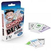 E3113 Monopoly Deal Hasbro Gaming +8 Yaş