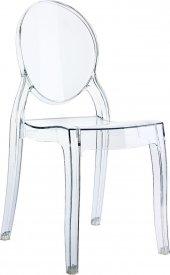 Siesta Baby Elizabeth Çocuk Sandalyesi Şeffaf Transparan