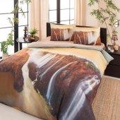 özdilek Victoria Falls Saten Nevresim Takımı Çift Kişilik Soft Life