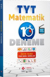 Sonuç Yayınları Tyt Matematik 10 Deneme 2020
