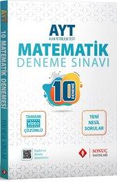 Sonuç Yayınları Ayt Matematik 10 Deneme 2020