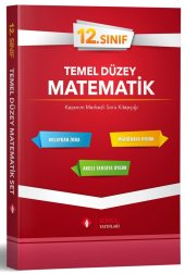 Sonuç Yayınları 12. Sınıf Matematik Temel Düzey Tek 2020