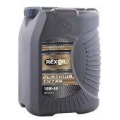 Rexoil Platinium 10w40 Sentetik Bazlı Motor Yağ...
