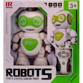 Uzaktan Kumandalı Dans Eden Yeşil Robot 5