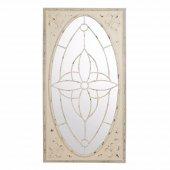 Tmall Home Design Metal Eskitme Boy Ayna Beyaz 78x4,5x146