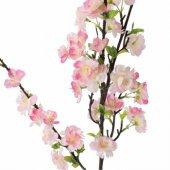 Pembe Sakura Dalı Yapay Çiçek 126 Cm