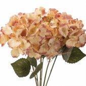 Pembe Krem Ortanca Demet Yapay Çiçek 50 Cm