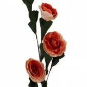 Turuncu Mini Gül Dal Çiçek