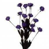 Lila Mini Tomurcuk Demet Çiçek