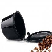 Nescafe Dolce Gusto Yeniden Doldurulabilir Plastik Kahve Kapsül Siyah