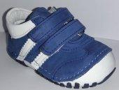 Pappikids235 Ortopedik Deri Erkek Çocuk İlk Adım Ayakkabısı Bot Mavi