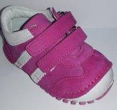 Pappikids235 Ortopedik Deri Kız Çocuk İlk Adım Ayakkabısı Bot Fuşya
