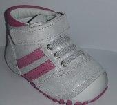 Pappikids236 Ortopedik Deri Kız Çocuk İlk Adım Ayakkabısı Bot