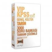 Yargı Yayınları 2020 Kpss Vıp Tarih Tamamı Çözümlü 3000 Soru Bankası