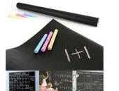 Yapışkanlı Kara Tahta-Yazı Tahtası: Sticker Blackboard-4