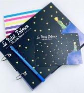 Fotoğraf Albümü Kendin Yap Özel Tasarım Küçük Prens Le Petit Prince Siyah