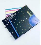Fotoğraf Albümü Kendin Yap Özel Tasarım Küçük Prens Le Petit Prince Siyah-2