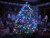 100 Ledli Renkli Yılbaşı Ağacı Işığı Led Ampül