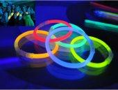10 Adet Glow Stick Bracelet Fosforlu Kırılan Çubuk BiIeklik-2