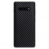 Huawei Y7 Pro 2019 Karbon Fiber Sticker Kaplama Arka Koruyucu-8