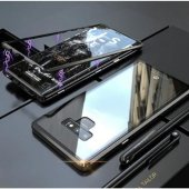 Samsung S9 Plus Mıknatıslı 360 Koruma Metal Cam...