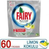 Fairy Platinium Bulaşık Tableti 60 Yıkama