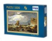 Puzzle 1000 Parça Bahar İstanbul Puzzle 48*68 cm-2