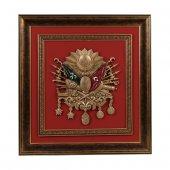 Osmanlı Devlet Arması Tablo (Kırmızı)