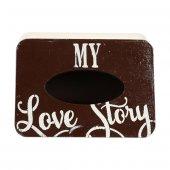Dekoratif My Love Baskılı Kutu-2
