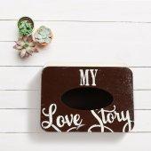 Dekoratif My Love Baskılı Kutu-3