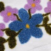 Mavi Çiçekli Havlu-2