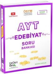 üçdörtbeş Yayınları Ayt Edebiyat Soru Bankası 2020