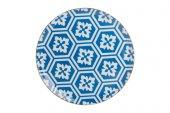 Porland Ap Morocco 28cm Düz Tabak Mavi