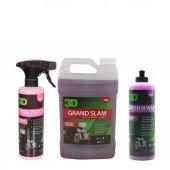 3d Grand Slam 3.79 Lt + Wash N Wax 473 Ml +...